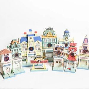 Dept 56 Monopoly Light Up City of Lights House